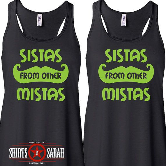 Womens Best Friends Shirt Tanks – Tank Tops Hipster Sistas From Other Mistas Shi