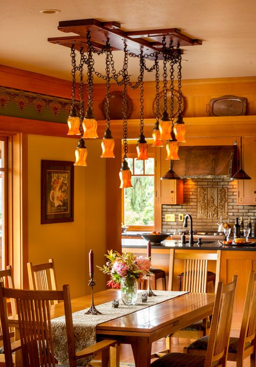 237 Best Craftsman Dining Rooms Images On Pinterest