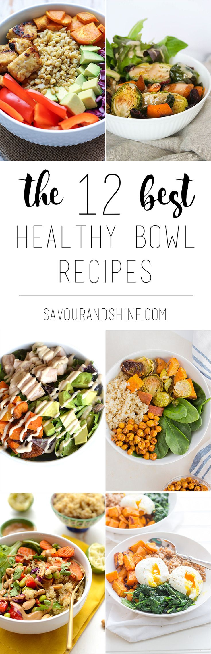 My favourite one-bowl meals that are healthy, easy, and so delicious! Let these recipes inspire you to create your own for