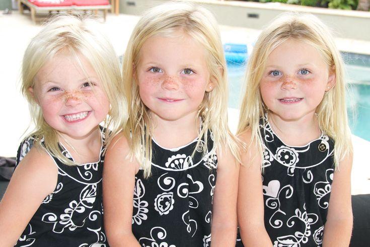 Triplets Set Of Corona Del Mar Triplets Who Are