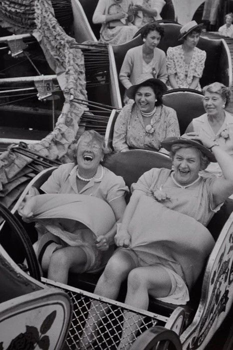 """""""You can choose to live your life with the joy of the front row or solemness of"""