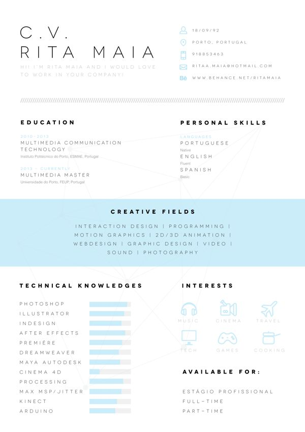 resume design amp layouts on pinterest resume design creative resume