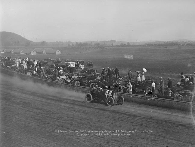 Roadster Car Race Summer 1920s Portland Oregon USA