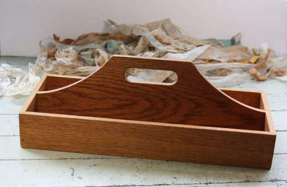 1000 Ideas About Wooden Tool Caddy On Pinterest Old