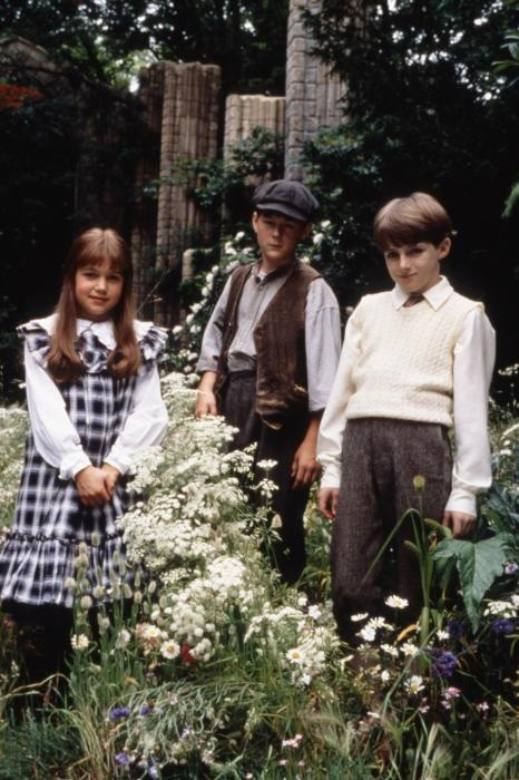 THE SECRET GARDEN, from left Kate Maberly, Andrew Knott