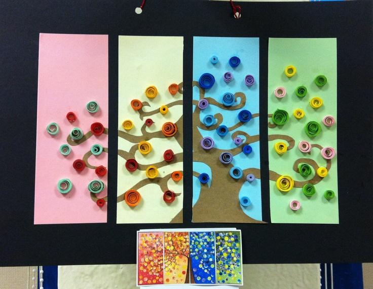 Y6 Calendars Art And Craft Pinterest Seasons, Season