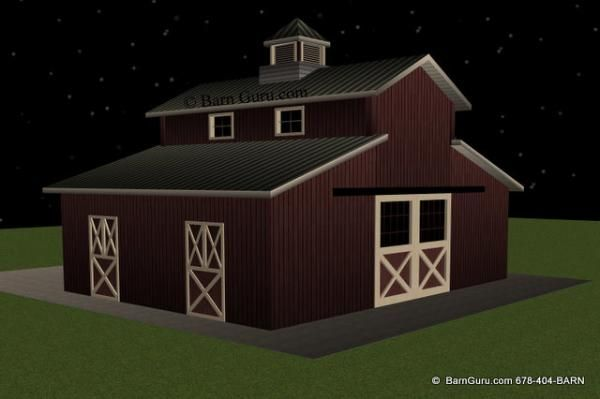 24 Best Images About Small Barn Plans On Pinterest Cold
