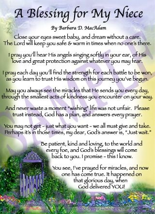 Niece Prayer Poems Amp Thoughts Pinterest The Ojays Prayer For And My Life