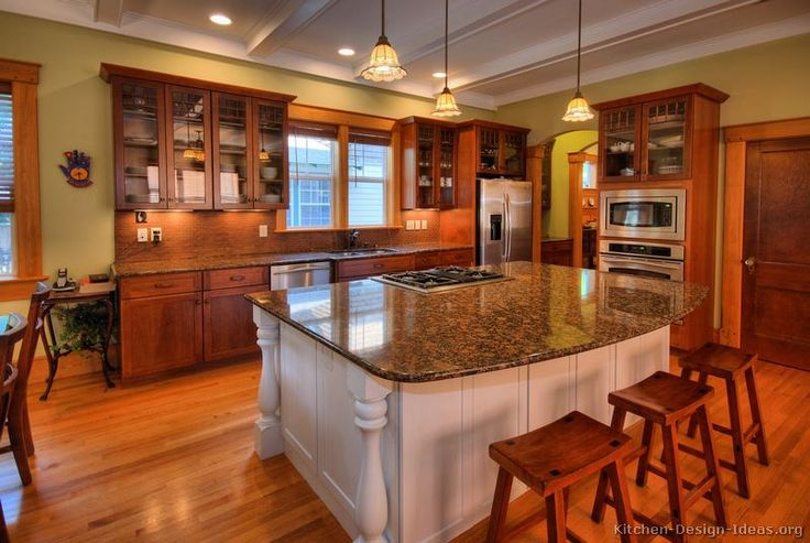 1000 Images About Craftsman Style Kitchens On Pinterest