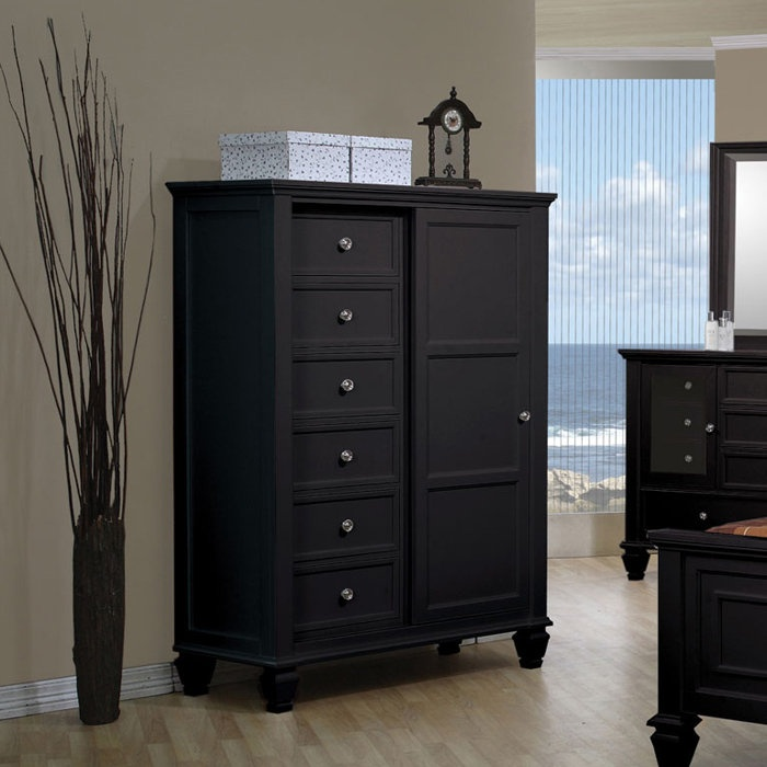 8 Drawer Chest With Sliding Door Home Decorfurniture