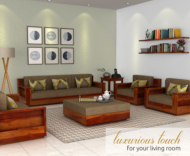 Best 20+ Wooden Sofa Set Designs Ideas On Pinterest