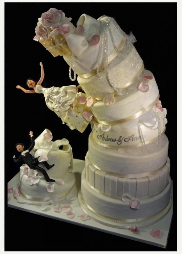 25 Best Ideas About Funny Wedding Cakes On Pinterest