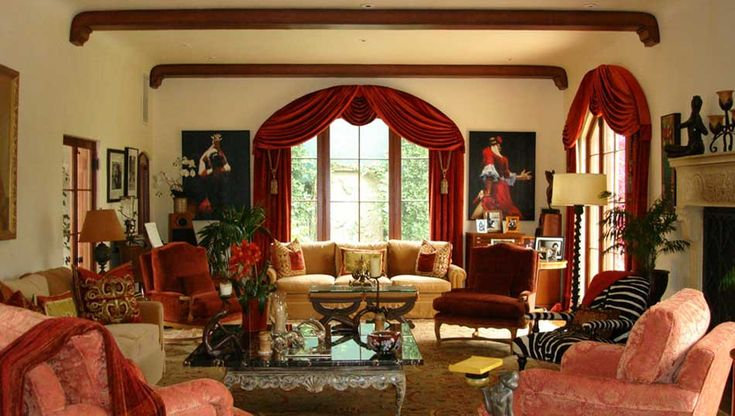 Tuscan Colors For Living Room PSardo Interiors Re