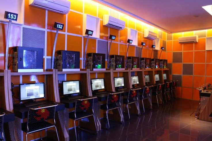 RitteR Cyber Cafe Favorite Places & Spaces Pinterest