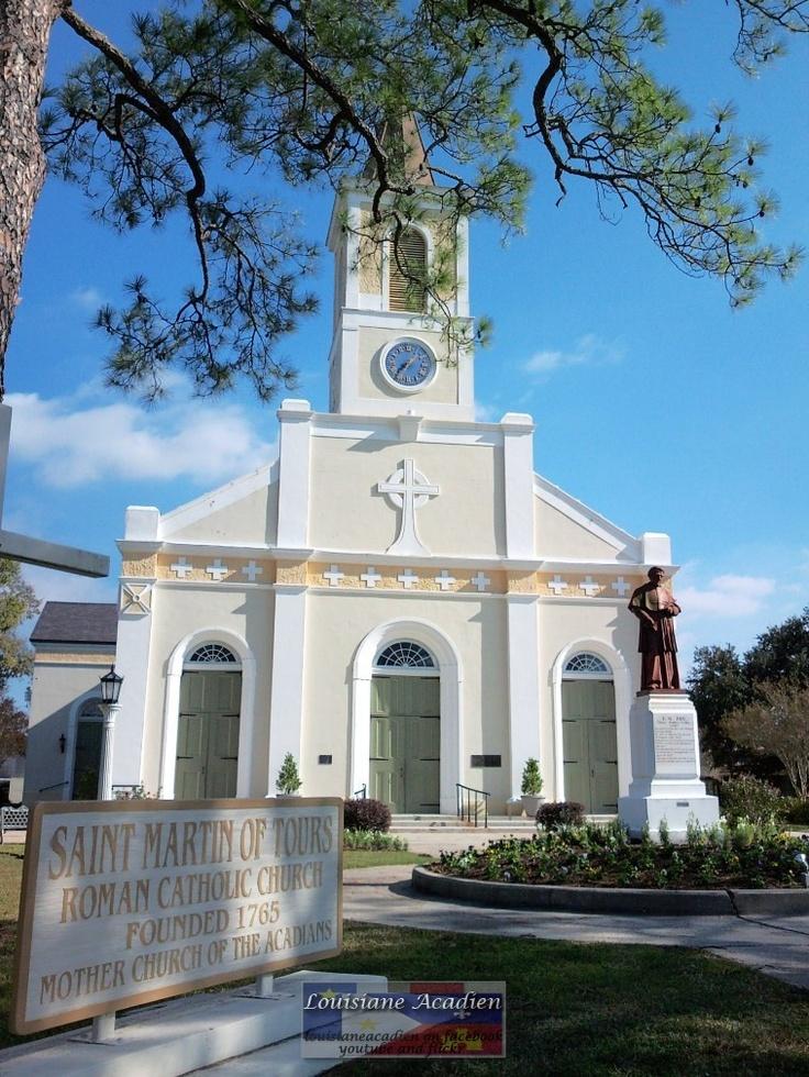 St Martin of Tours, St. Martinville, LA Historic