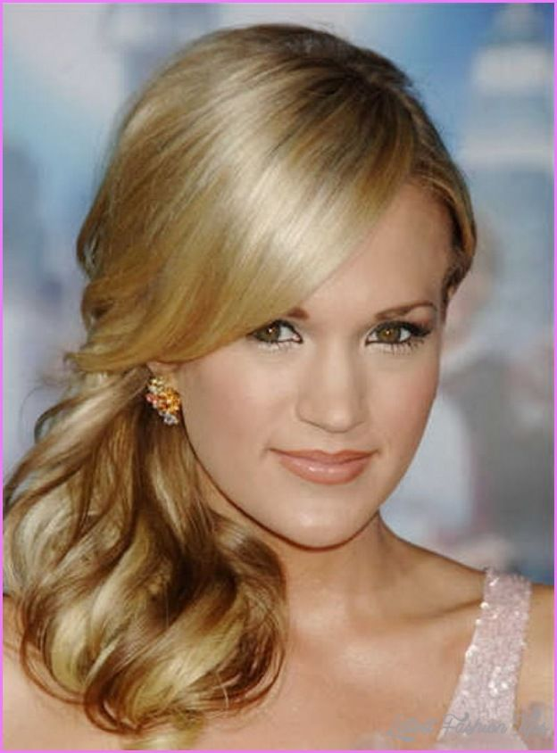 1000 Ideas About Side Ponytail Prom On Pinterest
