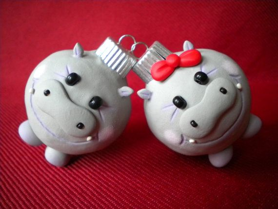 I Want Hippopotamus Christmas Ornament