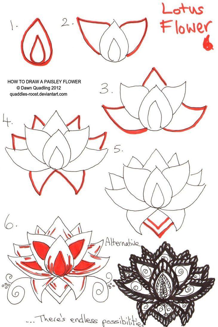 lotus flower Zentangle like zentangle inspired