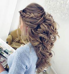 25 best half up wedding hair ideas on pinterest long bridal hair bridal hair half up and