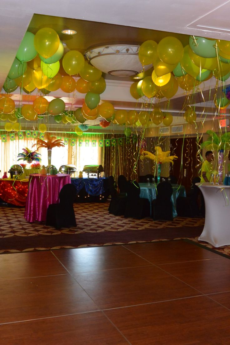 Carnival Tables Centerpieces
