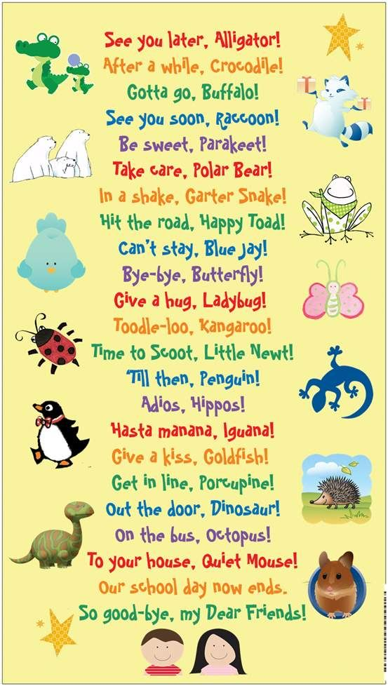 POST THIS BY THE EXIT DOOR~ This cute downloadable would make a fun mini-display a