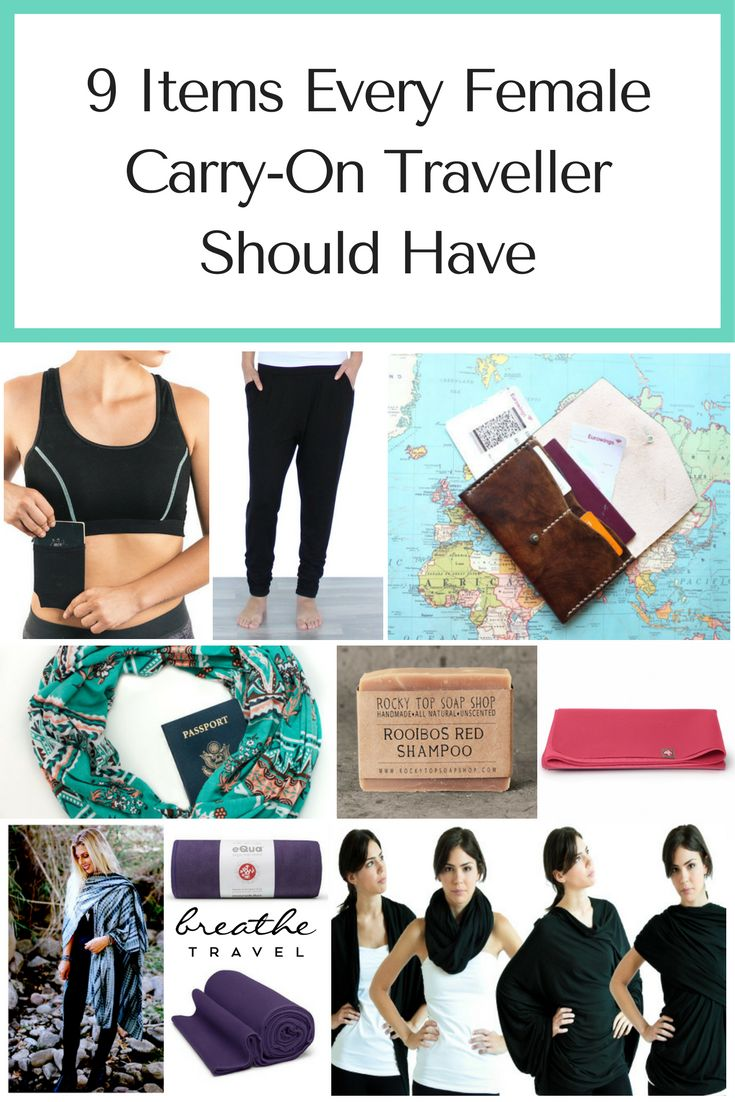 The best items to take when you travel abroad.