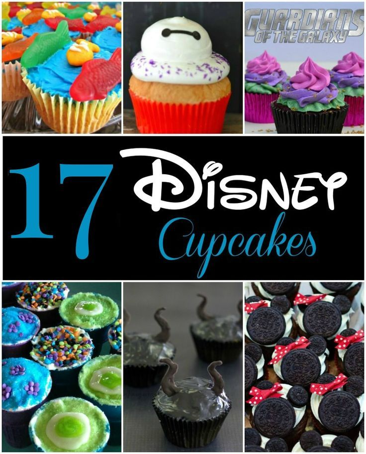 These Disney cupcakes are a