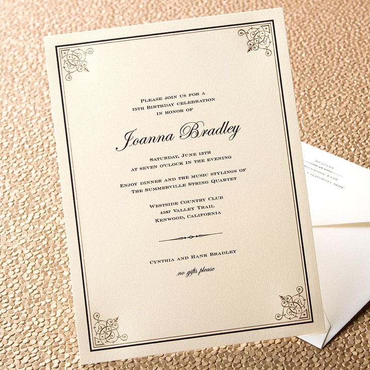 Etiquette A Perfectly Proper Invitation for Every Soiree