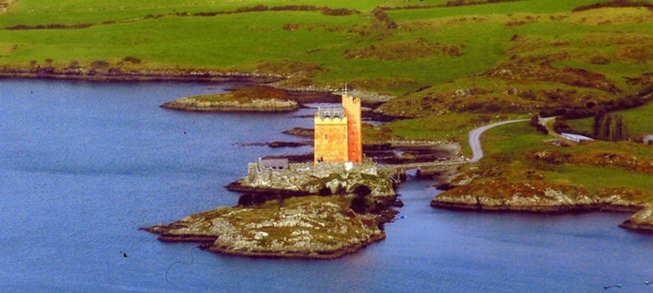 Kilcoe Castle Cork Ireland Travel Pinterest Castle
