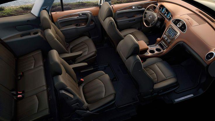 2014 Buick Enclave Luxury Crossover SUV Interior Photos