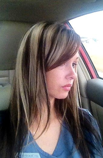 1000 Images About Highlights Hair On Pinterest Chunky