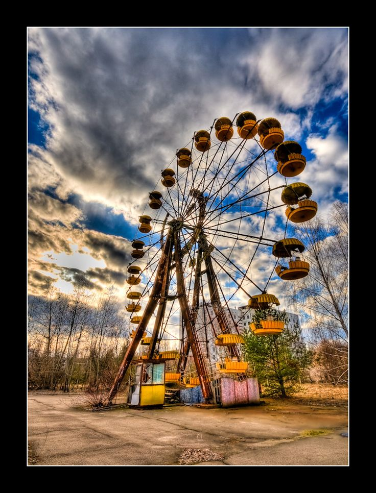 The EverMotionless Ferris Wheel in Pripyat [After