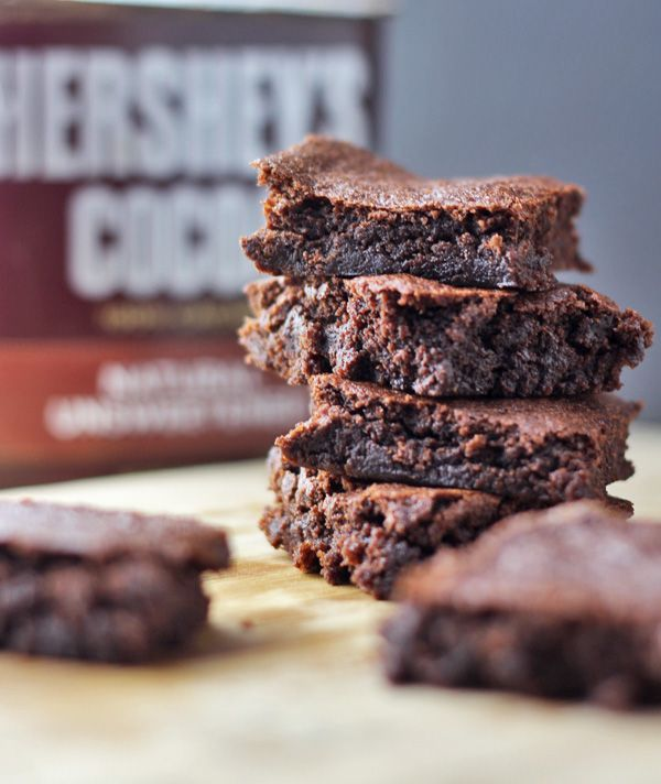 If you are looking for a Clean Eating Brownies Recipe that really hits the spot, look no further. We use Hersheys cocoa in this