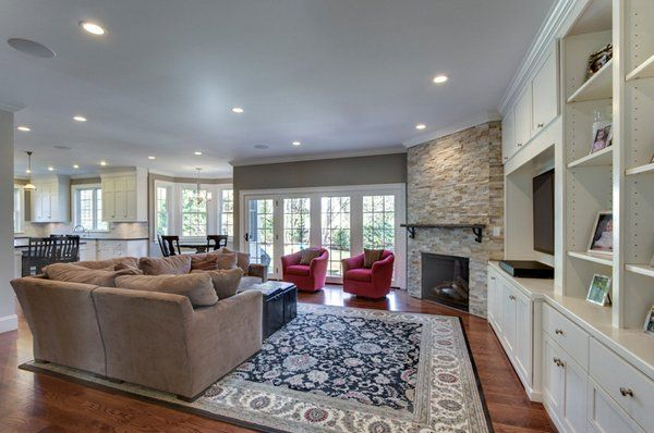 Family Room Furniture Layout Design