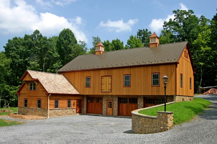 Love The Idea Of A Bank Barn Complete With An Apartment