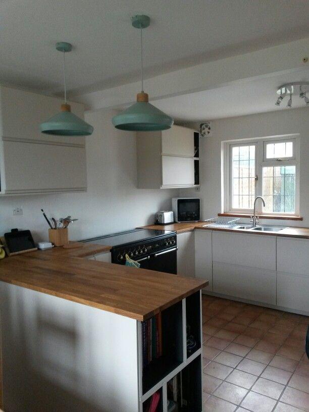 My New Kitchen Ikea Voxtorp Light Beige Oak Worktops