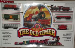 Bachmann HO Scale Old Timer Train Set Jupiter 440 Lootive Freight set | Ho scale and Trains