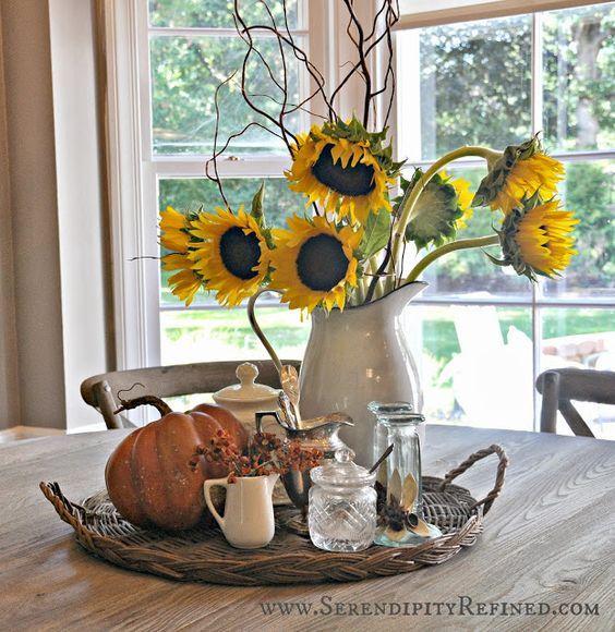 Kitchen Table Centerpieces Centerpiece Ideas Tables