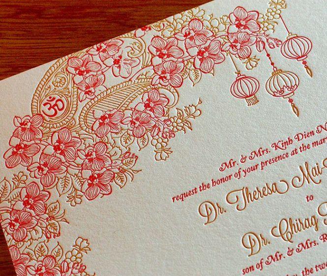 Por Wedding Invitation Blog Invitations Indian