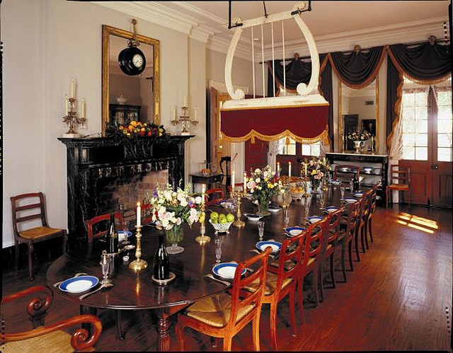 oak alley plantation Dining room Google Search with