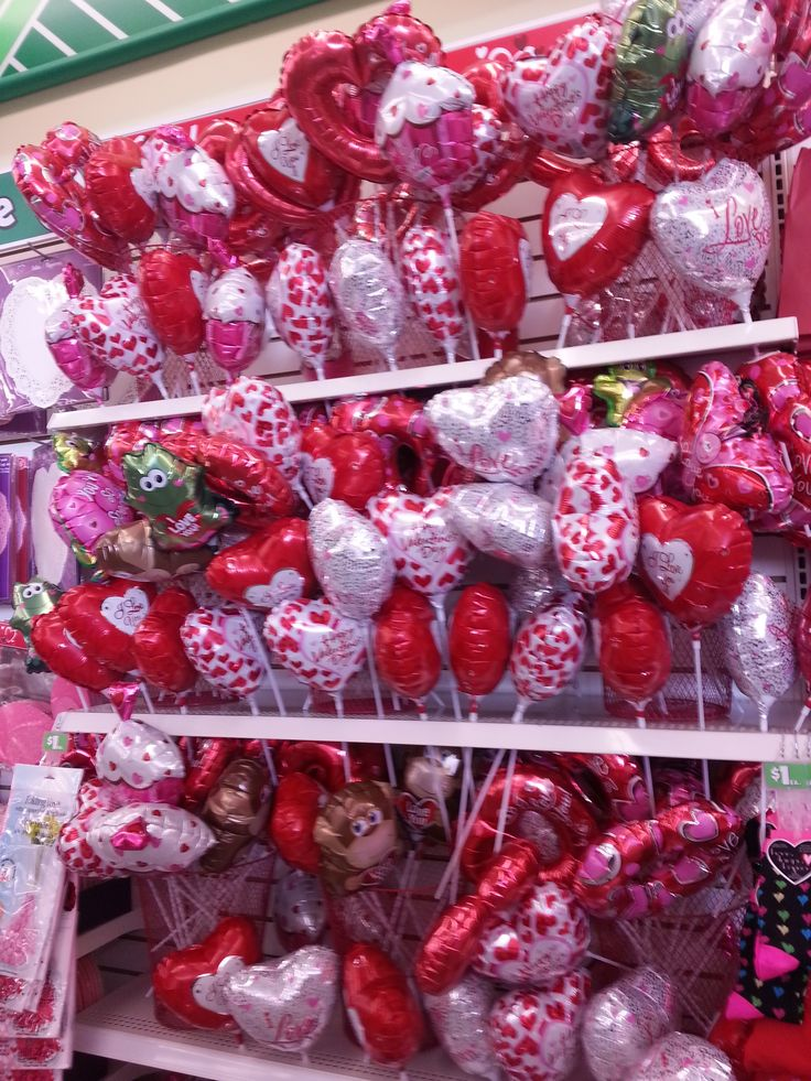 Dollar Tree Valentines Day Balloons These Balloons Are