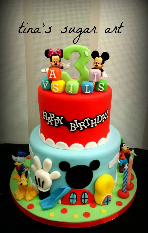 209 Best Images About Mickey Minnie Mouse Cake On