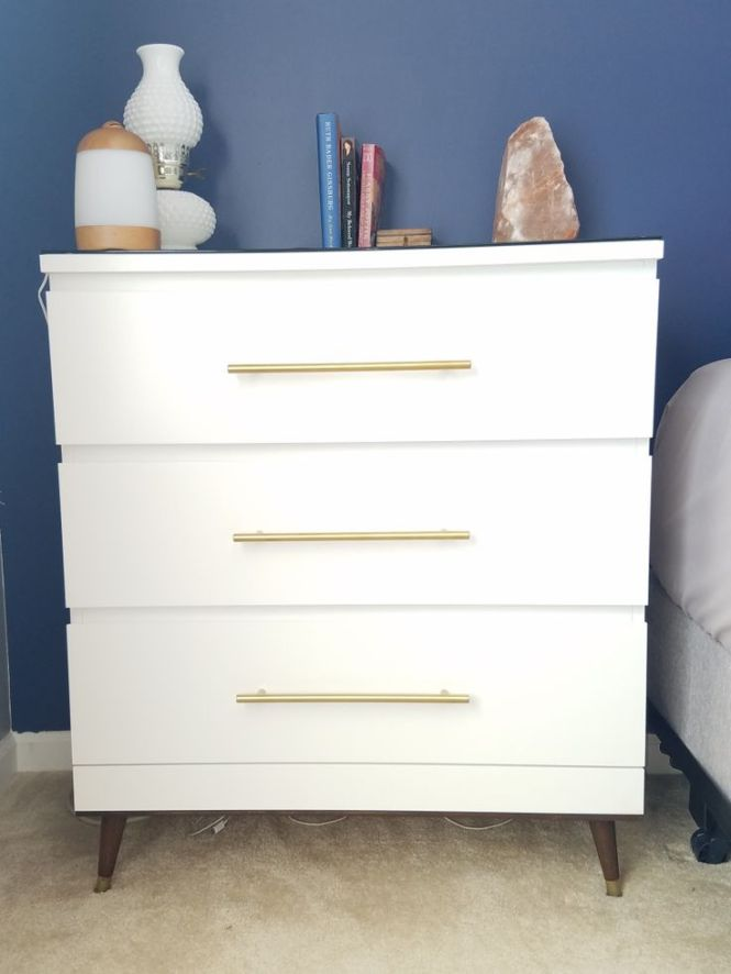My Diy Mid Century Modern Malm Hackhttps Belovedmind33 WordPress Com