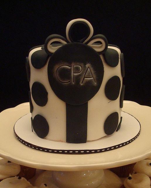 cpaexambucketlist Letters Cake!! ;) CPA Exam Bucket