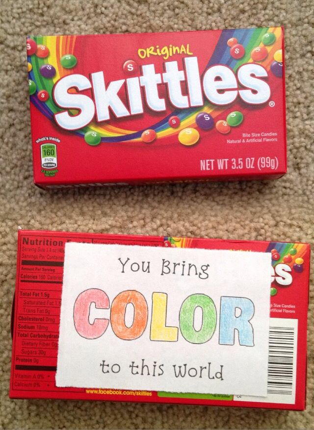 Skittles Puns For Valentines Day Candy Grams Candy
