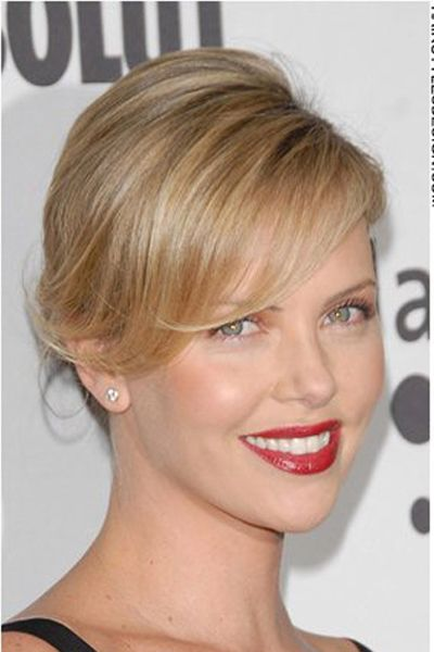 Charlize Therons Goooorgeous Lipstick Color Pretty