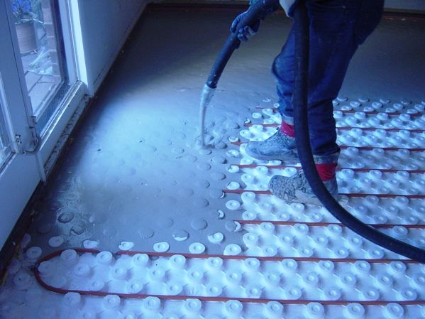 Go Green With A Radiant Heat Floor House Components