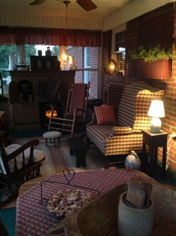 488 Best Images About Colonial And Primitive Sunrooms And