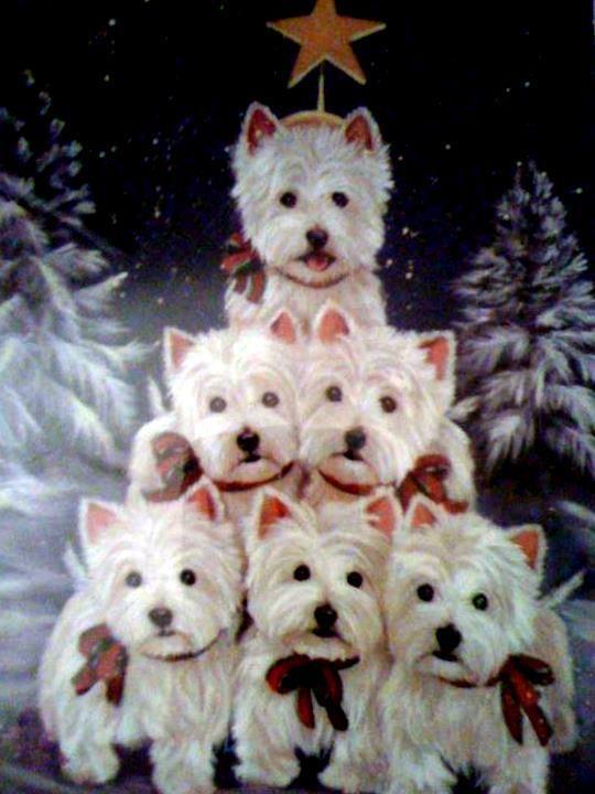 Westie Treeoh Be Still My Merry ChristmasI