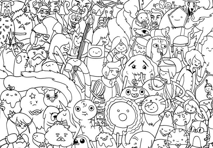 adventure time coloring pages and coloring on pinterest